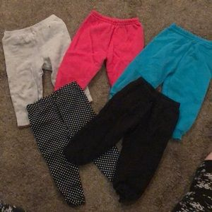 Other - Bundle of 5 pant for baby girl